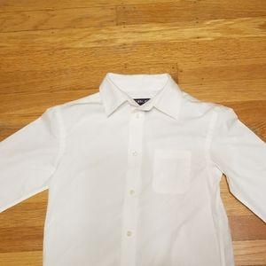 Cherokee boys dress white shirt size M 8/10